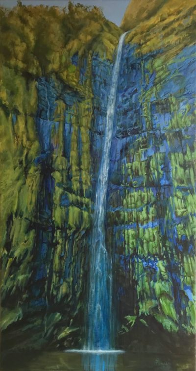 """Waimoku Falls"" by Steve Rinaldi - SMR999"
