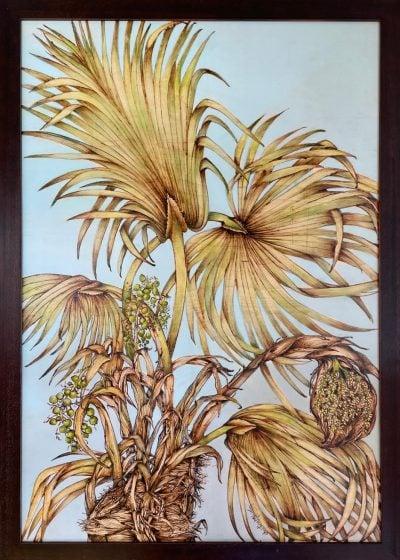 """Loulu Palm"" by Christine Halton - CH579"