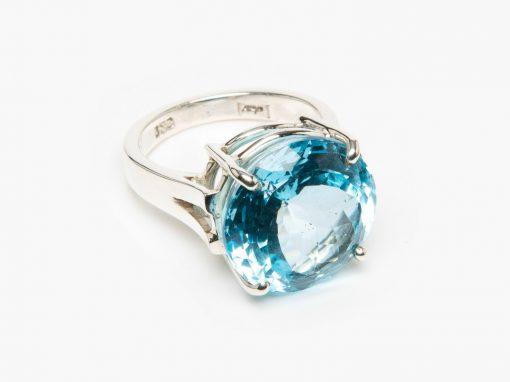 Blue Topaz Ring by Yasha