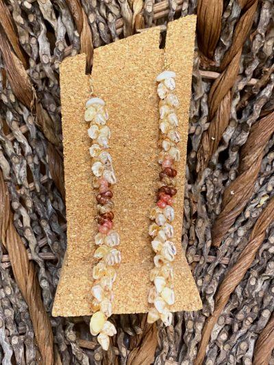 Ni'ihau Earrings, Kipona Dangle - PANC1048-M