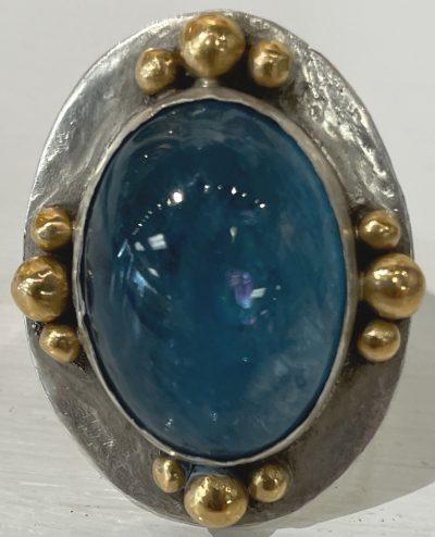 Aquamarine Ring by Pamela Street - PKS584