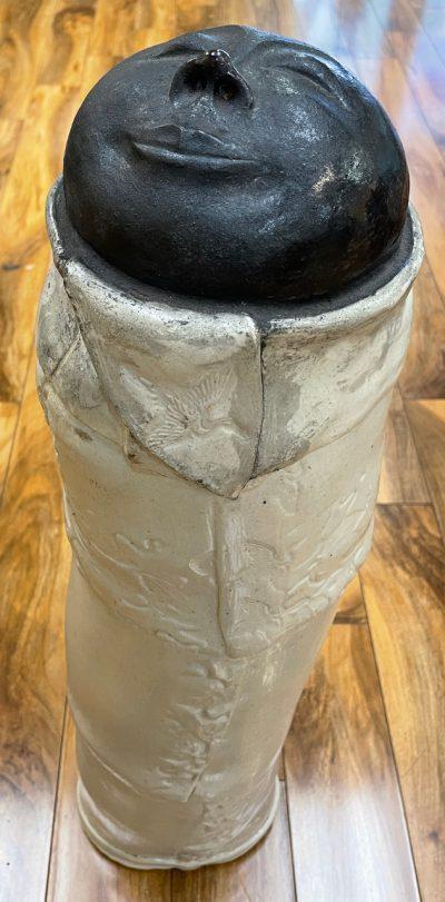 Ceramic Meditation Monk by Marylyn Holland - MAH365