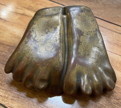 Bronze Monk Feet by Marylyn Holland - MAHX41