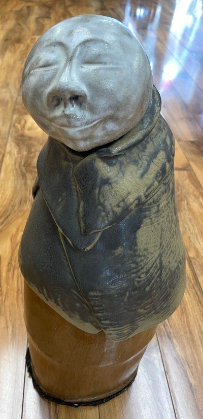 Ceramic Meditation Monk by Marylyn Holland - MAH130