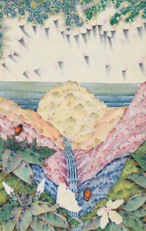 """Rain of Extinction"" Triptych Center Panel by Terris Temple - TET28"
