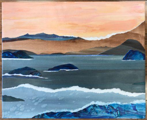 """Sea And Surf"" by Nina Bindi - BIN43"