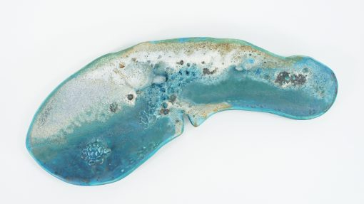 Sea Tray by Lee Plevney - Curved - Top View