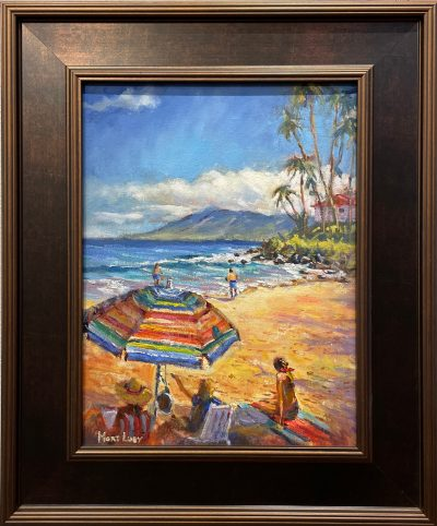 """Beach Time in Napili"" by Mort Luby - MOL497"