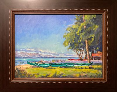 """Hanakao'o Beach"" by Mort Luby - MOL485"