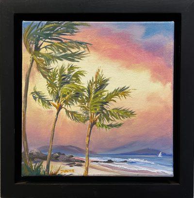 """Holding Palms"" by Diane Snoey Appler - DAP387"