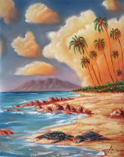"""""""Kiehi Lovers"""" by Ariel Quiroz - AQOP1620KL"""