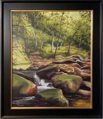"""Makamakaole Stream"" by Steve Rinaldi - SMR153"