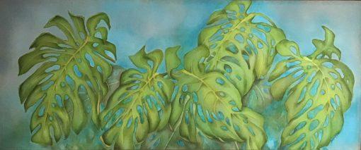 """""""Monstera Leaves"""" by Christine Halton - CH592"""