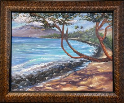 """Oluwalu Shore"" by Diane Snoey Appler - DAP508"