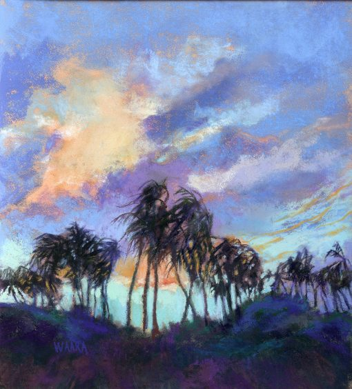 """""""Palms in the Wind"""" by Christine Waara - CW150"""