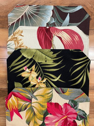 Table Runners by Maui Potpourri in various tropical fabrics