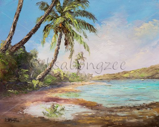 """""""Tropic Reflection"""" by Lisabongzee - LBZ262"""