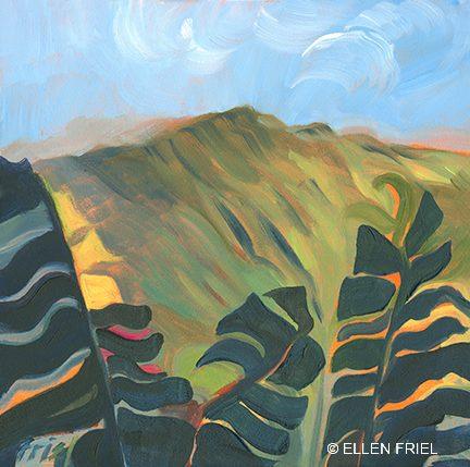 """""""Haleakala View"""" by Ellen Friel"""