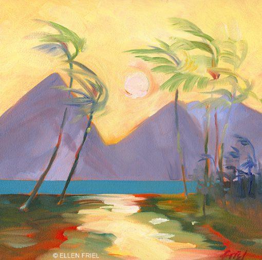 """""""Late Afternoon 3"""" by Ellen Friel"""