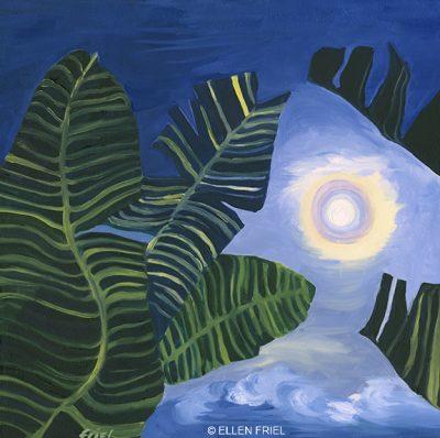 """""""Maui Full Moon"""" by Ellen Friel"""
