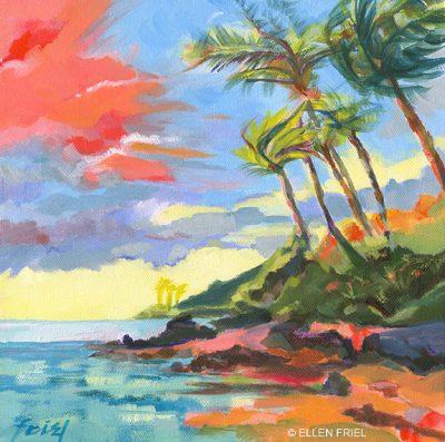 """""""Maui Palms"""" by Ellen Friel"""