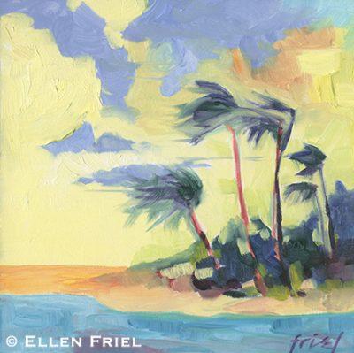 """""""Palms"""" by Ellen Friel"""