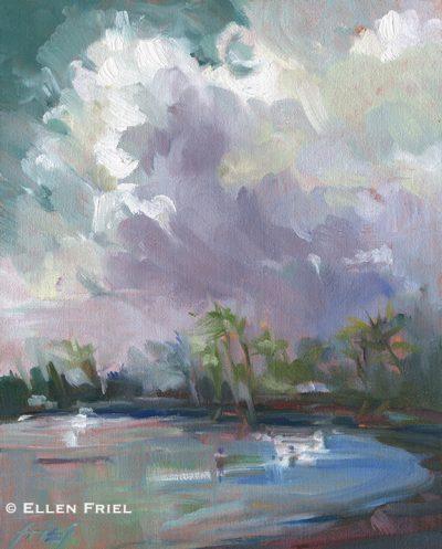 """""""Summer Sky"""" by Ellen Friel"""