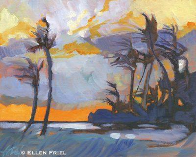 """""""Sunset"""" by Ellen Friel"""