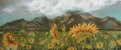 """West Maui Sunflowers"" by Christine Halton"