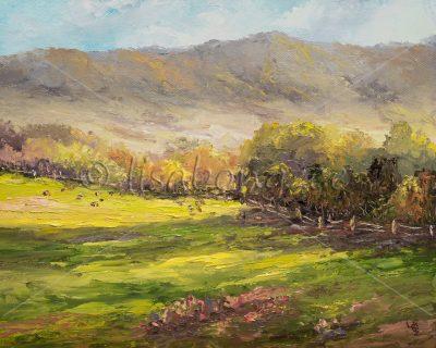 """Olinda Upcountry Greens"" by Lisabongzee"
