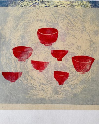 """""""Red Tea Cups"""" by Lali Groth"""